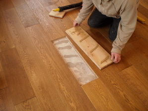 Instructions For Properly Repairing A Squeaky Hardwood Floorboard